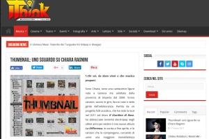 I Think Magazine – Intervista di Doriana Tozzi