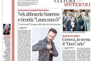 La Stampa – Articolo di Daniela Borghi