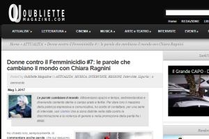 Oubliette Magazine – Intervista di Emma Fenu