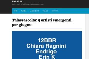 Talassa Magazine – Recensione di Gerardo Russo