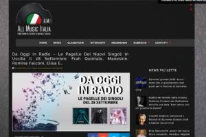 All Music Italia – Recensione di Fabio Fiume