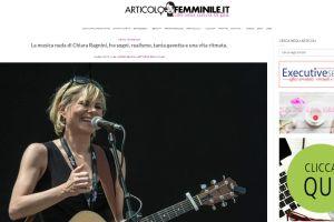 Articolo Femminile – Intervista di Erica Romeo