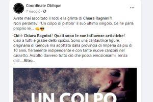 Coordinate Oblique – Intervista